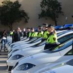 Seat lliura 45 unitats a la Guàrdia Urbana de Barcelona
