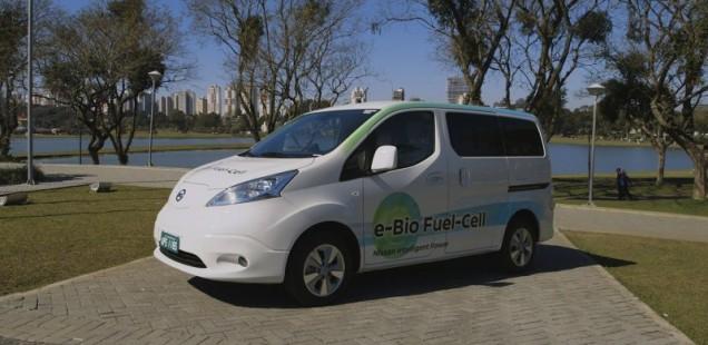 Nissan presenta un vehicle elèctric amb pila de combustible de bio-etanol amb més de 600 km d'autonomia