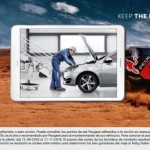 El manteniment Peugeot et porta al Ral·li Dakar