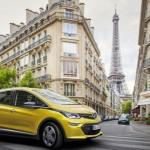 Novedades Opel en París: Opel Ampera-e con más de 500 kilómetros de autonomía