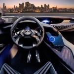 EL nou Lexus UX Concept presenta una radical i immersiva experiència de conducció tridimensional