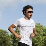 Bridgestone organiza con su embajador Javier Gómez Noya un triatlón indoor para recorrer km solidarios