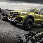Mercedes-Benz Concept CLASE X: Primer anticipo del nuevo pickup con estrella