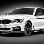 Accesorios BMW M Performance para el nuevo BMW Serie 5 Berlina