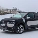 La vocació aventurera del Citroën C4 Cactus Rip Curl també es pot utilitzar en ple hivern