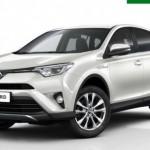 Toyota Espanya lliura una flota de 100 RAV4 hybrid a Europcar