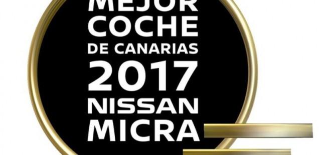 El nuevo Nissan Micra recibe el premio al Mejor Coche del año 2017 en Canarias