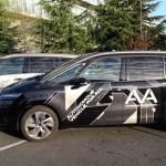 """Primeres proves del vehicle autònom del Grup PSA per automobilistes """"no experts"""