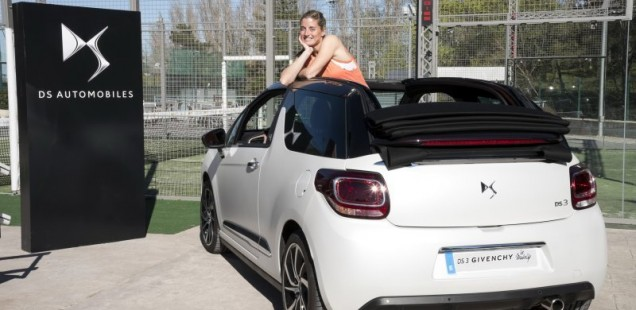 DS Automobiles con Alejandra Salazar, actual número 1 en el World Padel Tour