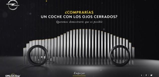 Compraries un cotxe amb els ulls tancats? : Innovadora campanya teaser en digital del nou Opel Insígnia