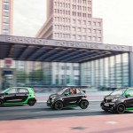 El smart electric drive arriba al Automobile Barcelona