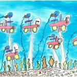 Toyota Espanya ha premiat els millors artistes infantils en dibuix i pintura