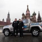 Rainer Zietlow va conduir el seu Volkswagen Amarok V6 TDI, de Dakar a Moscou en 3 dies, 4 hores i 54 minuts