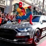 El nuevo Audi A8, invitado sorpresa en el estreno mundial de 'Spider-Man: Homecoming'