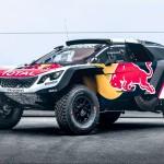 """Peugeot """"ataca al máximo"""" con el lanzamiento del 3008DKR Maxi 2017"""