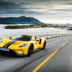 El Ford GT recorre la carretera del Atlántico y bate el récord de vuelta en el circuito más al norte del mundo