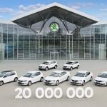ŠKODA AUTO alcanza los 20 millones de coches producidos