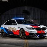 TECNOLOGIA INNOVADORA PER A la SEGURETAT AL MAJOR ESPECTACLE DE LES CURSES DE MOTOS: EL NOU BMW M5 MOTOGPTM SAFETY CAR