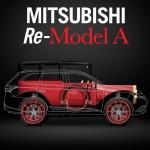 Mitsubishi presenta el Re-Model A sobre plataforma PHEV, la versión moderna de su primer vehículo
