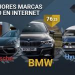 BMW ES CORONA COM LA MARCA DE L'ANY A INTERNET A ESPANYA