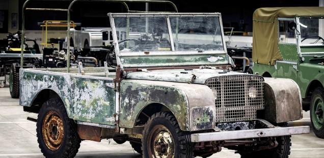 El 70º Aniversario de Land Rover comienza con la restauración de un 4×4 original `extraviado´
