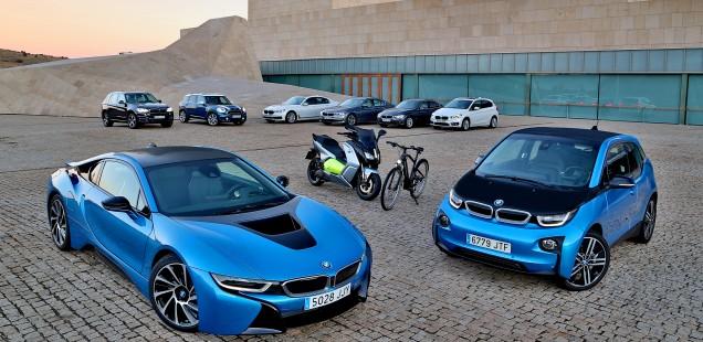 BMW Group: líder a Espanya i al món en vendes d'automòbils electrificats el 2017