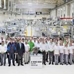 ŠKODA AUTO produce dos millones de transmisiones de doble embrague DQ 200 en la planta de Vrchlabí