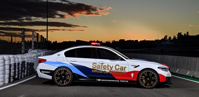 """20 años: BMW M comienza esta temporada de aniversario como """"Vehículo Oficial de MotoGP"""""""