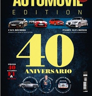 LA REVISTA AUTOMOVIL CELEBRA EL SEU 40 ANIVERSARI AMB UN NOMBRE MOLT ESPECIAL