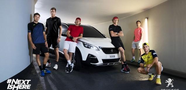 Roland Garros 2018: Peugeot lanza una nueva campaña de comunicación con sus embajadores tenísticos