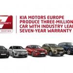 Kia Motors Europa produeix 3 milions de vehicles amb la seva garantia de 7 anys líder en el mercat