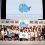 TOYOTA CELEBRA LA FINAL MUNDIAL DEL CONCURS DE DIBUIX INFANTIL 'TOYOTA DREAM CAR'