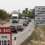 El RACC celebra el desviament de camions a la N-340 però considera intolerable la demora en la seva aplicació