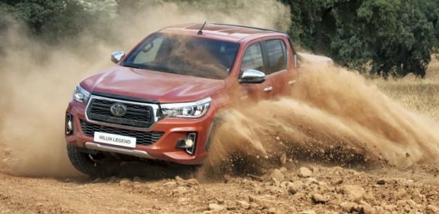 Nuevo Toyota Hilux LEGEND RAIDER: solo 15 exclusivas unidades para España
