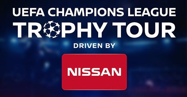 Nissan trae a Barcelona el Trofeo de la UEFA Champions League