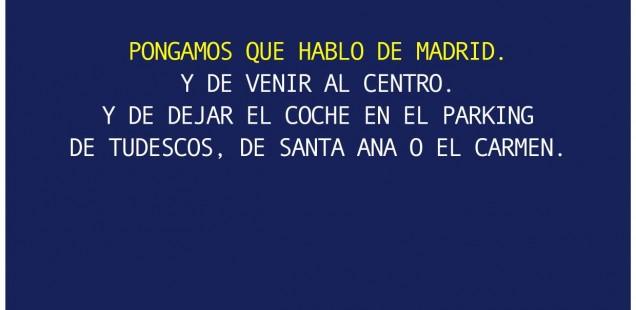 LOS PARKING DE MADRID CENTRAL DISMINUYEN SU OCUPACIÓN EN UN 40% DESDE LA PUESTA EN MARCHA DE LA RESTRICCIÓN DE ACCESO