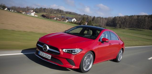 El nuevo Mercedes-Benz CLA Coupé