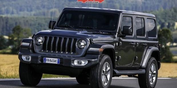 """El nuevo Jeep Wrangler es """"4x4 de l'Année 2019"""""""