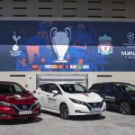 Nissan electrifica la final de la UEFA Champions League en Madrid