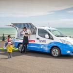 Del cielo al cucurucho: Nissan presenta un prototipo de furgoneta de helados de cero emisiones con motivo del Día del Aire Limpio