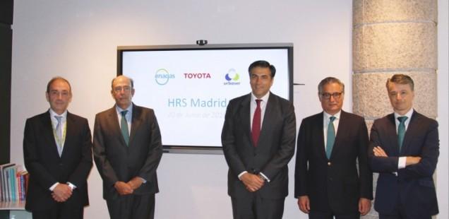 Toyota España, Enagás y Urbaser promoverán la primera estación de repostaje de hidrógeno de España acondicionada para turismos