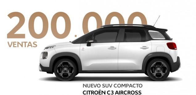 SUV COMPACTO CITROËN C3 AIRCROSS: 200.000 VENTAS