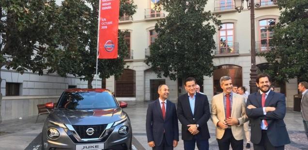 Nissan presenta en Granada el nuevo Nissan JUKE, con motivo de la reunión anual de la marca con la red de concesionarios nacional