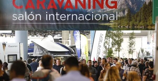Los fans del turismo al aire libre llenan el Salón Internacional del Caravaning