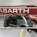 NOU ABARTH 695, 70 ° anniversari, DESCOBREIX-AMB LA REALITAT AUGMENTADA