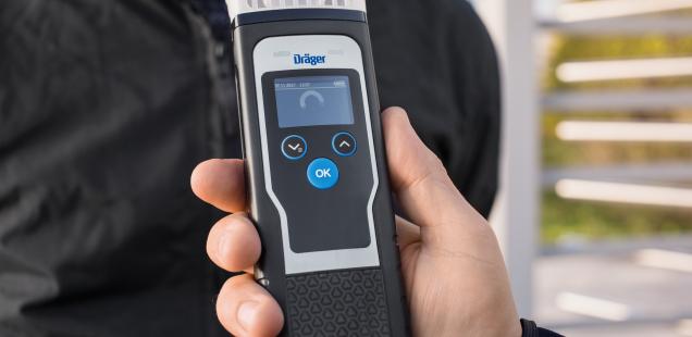 Dräger fabrica el dispositivo Alcotest número un millón