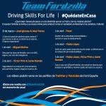 FORDZILLA ESPANYA IMPARTEIX ELS PRIMERS CURSOS ONLINE DE CONDUCCIÓ PER A JOVES 'DRIVING SKILLS FOR LIFE'