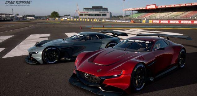 Mazda RX-Vision GT3 Concept: diversión al volante para los amantes de la competición virtual