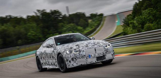 El nuevo BMW M3 Berlina y el nuevo BMW M4 Coupé en su fase final de pruebas en circuito