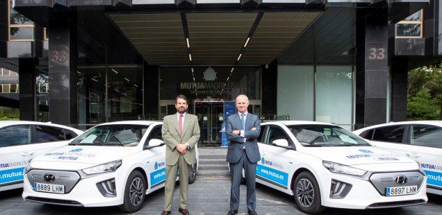 Hyundai entrega una flota de 138 IONIQ a  Mutua Madrileña